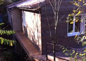 Extension en maison ossature bois