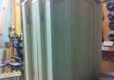 Fabrication portes intérieures en frêne