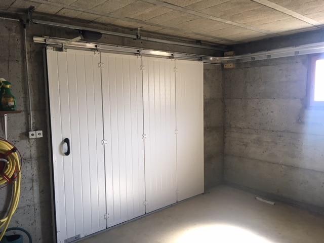 Porte De Garage Sectionnelle Coulissante Menuiserie Xavier