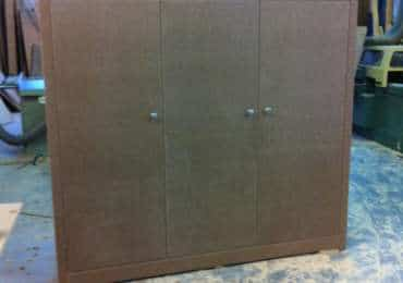 Création placard bois