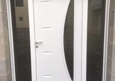 Porte d'entrée et coulissant alu