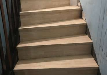 Rénovation escalier en recouvrement